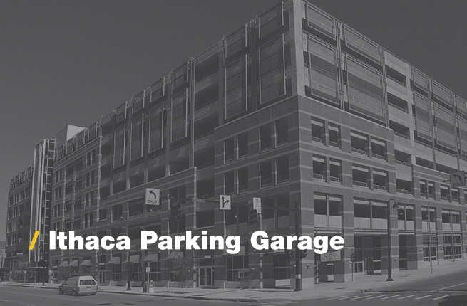 Ithaca Parking Garage